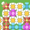 Puzzle games - Flower Fall